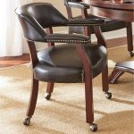 Dining Chairs with Casters or Rollers