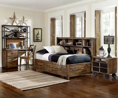 Image of: Distressed Bedroom Furniture Pinterest