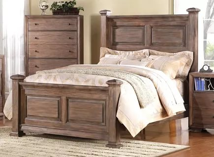 Image of: Distressed Bedroom Furnitures