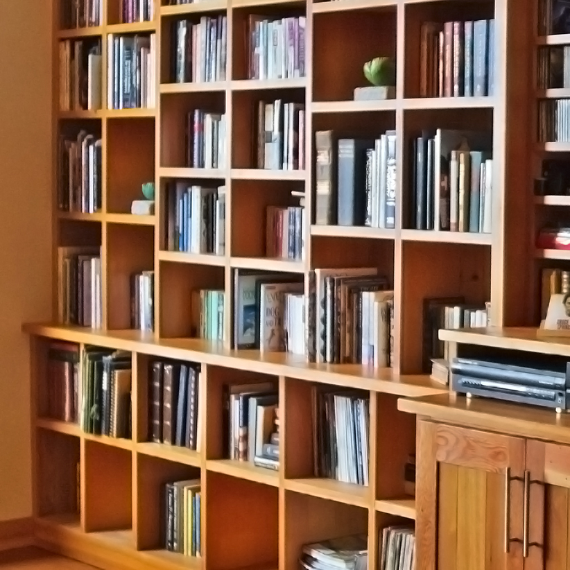Image of: Diy Built In Bookcase Plans