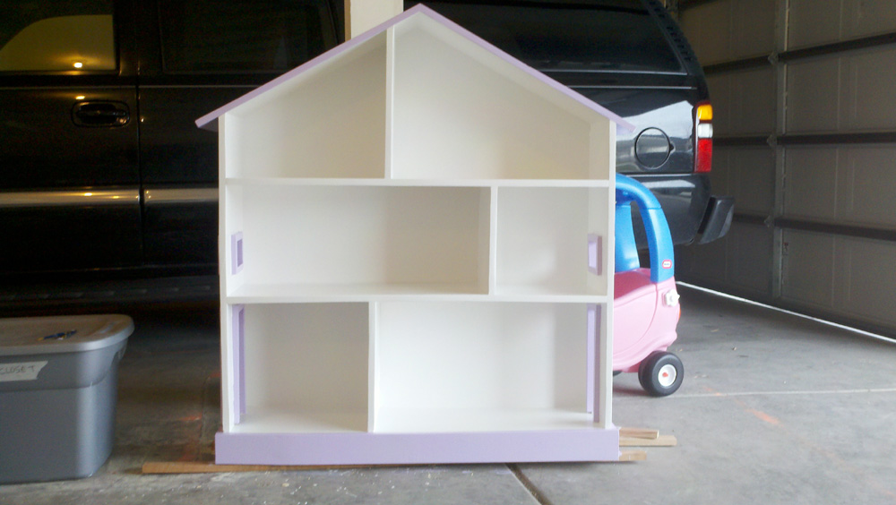 Image of: Diy Dollhouse Bookcase