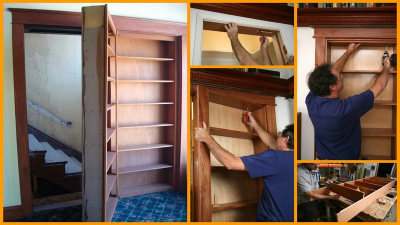 Image of: Diy Ideas Built In Bookcase Plans