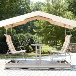 Double Outdoor Glider with Canopy