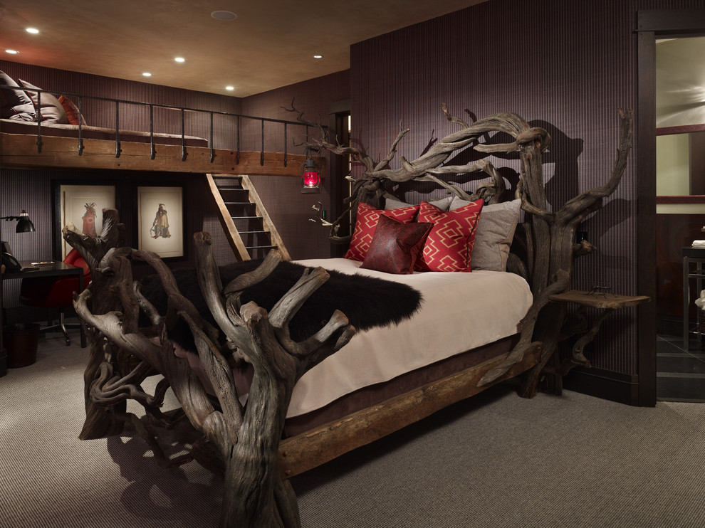 Image of: Driftwood Colour Bedroom Furniture