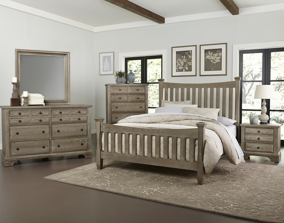 Image of: Driftwood Style Bedroom Furniture