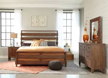 Image of: Driftwood bedroom furniture