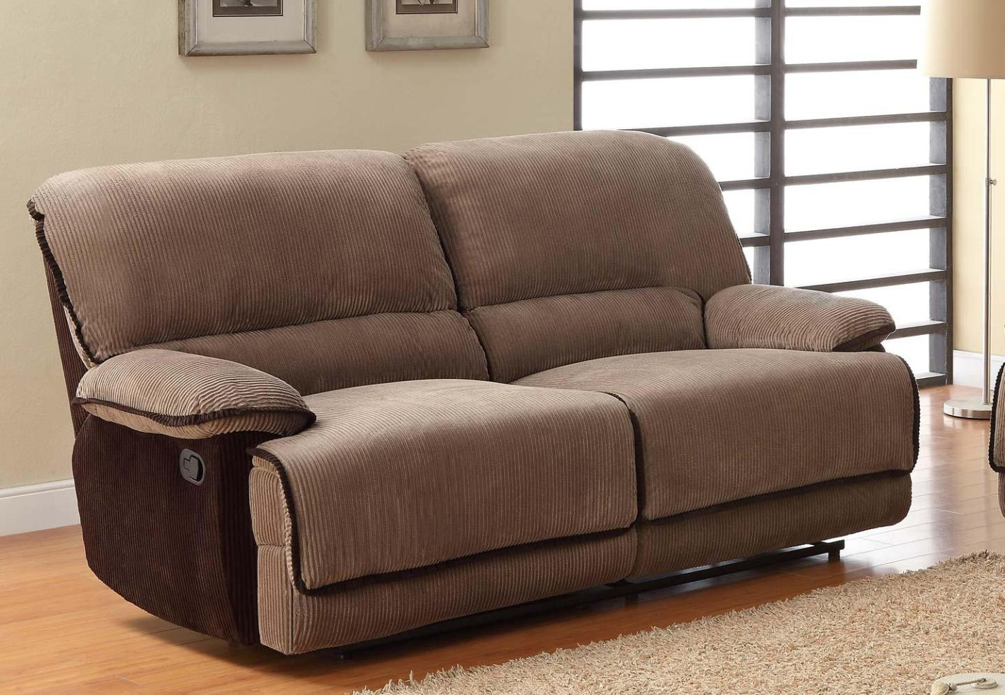 Image of: Dual Recliner Couch