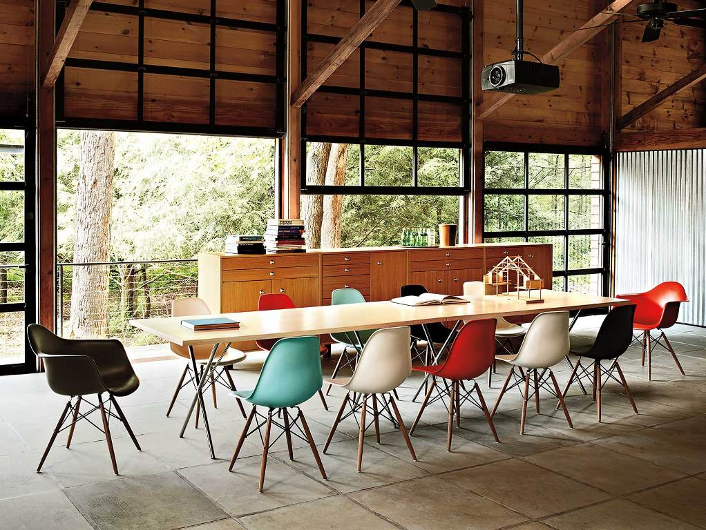 Image of: eames dining chair cushion