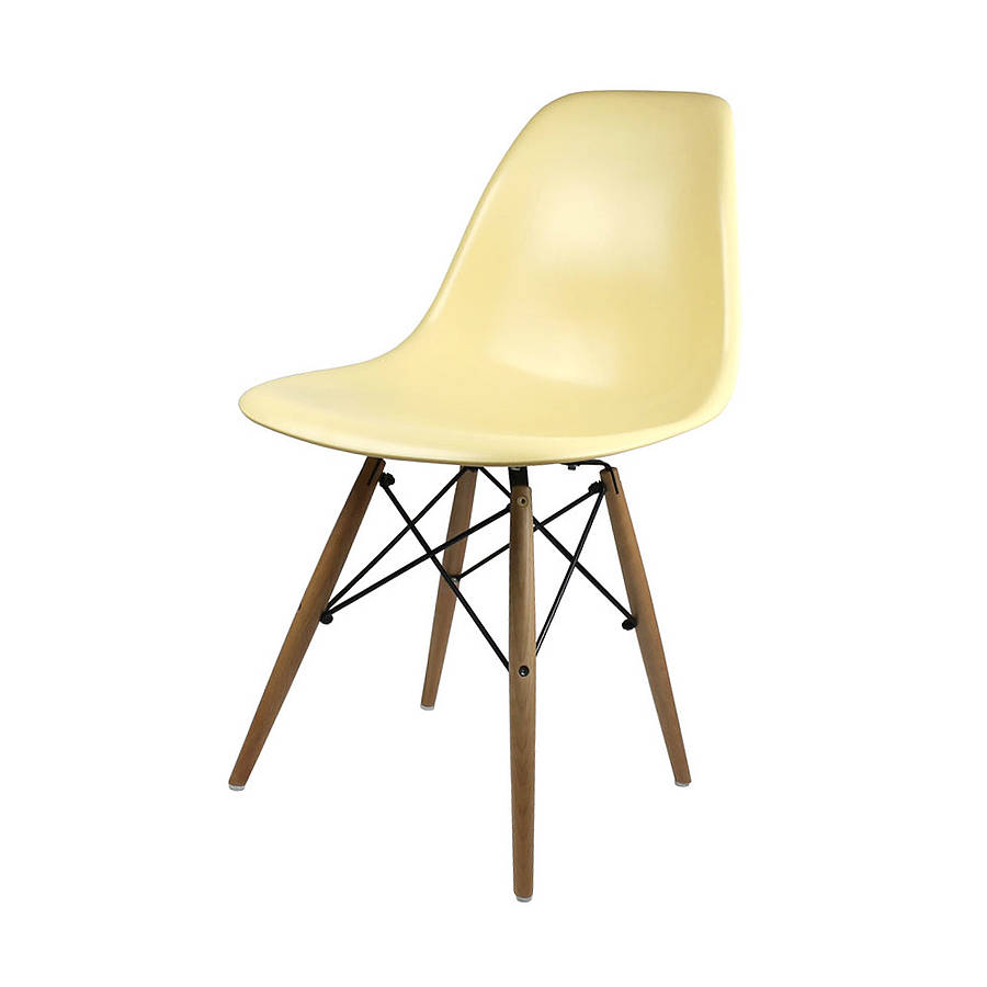 Image of: Eames Dining Chair Original Design