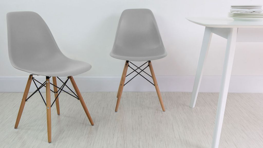 Image of: eames dining chair reproduction
