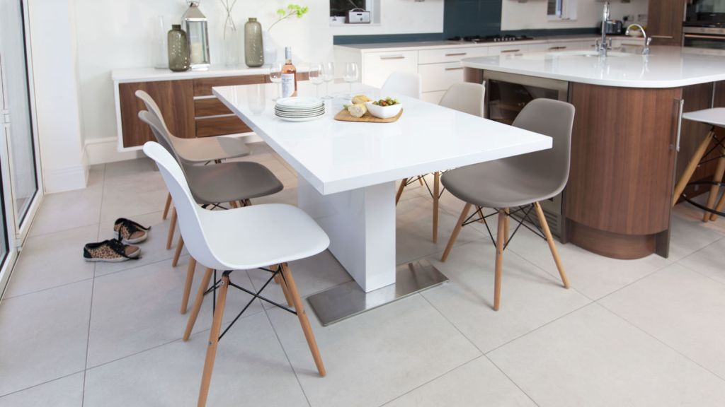 Image of: eames dining chair too low