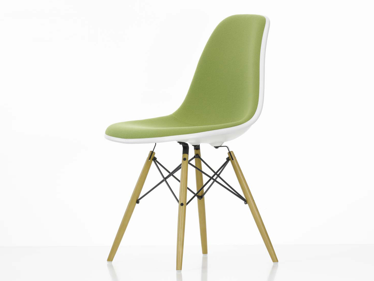 Image of: Eames Dining Chair Upholstered