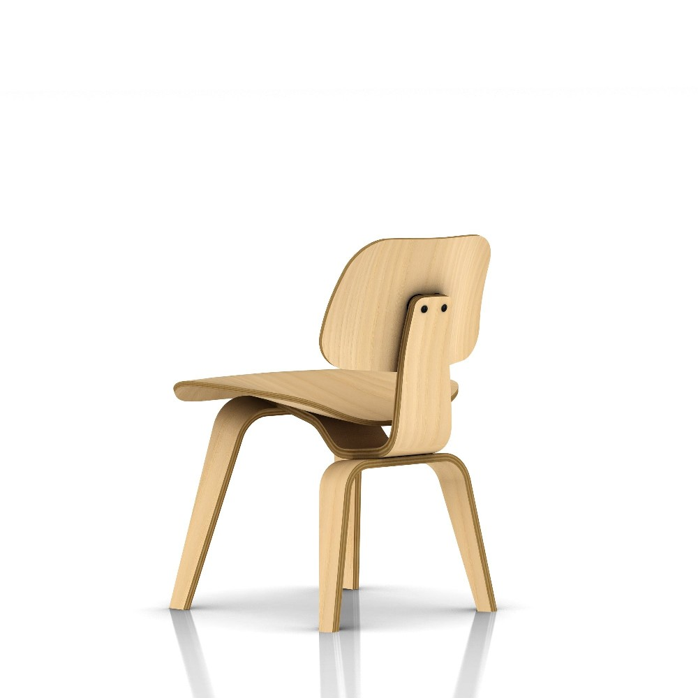 Image of: Eames Dining Chair Wood