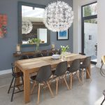 eames dining chair and table
