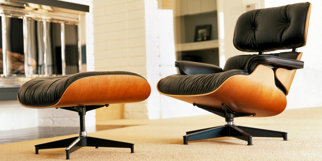 Image of: eames lounge chair best replica