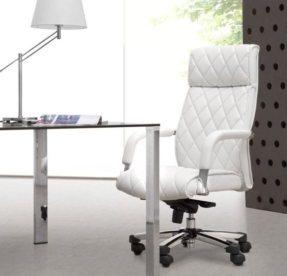 Image of: eames office chair white