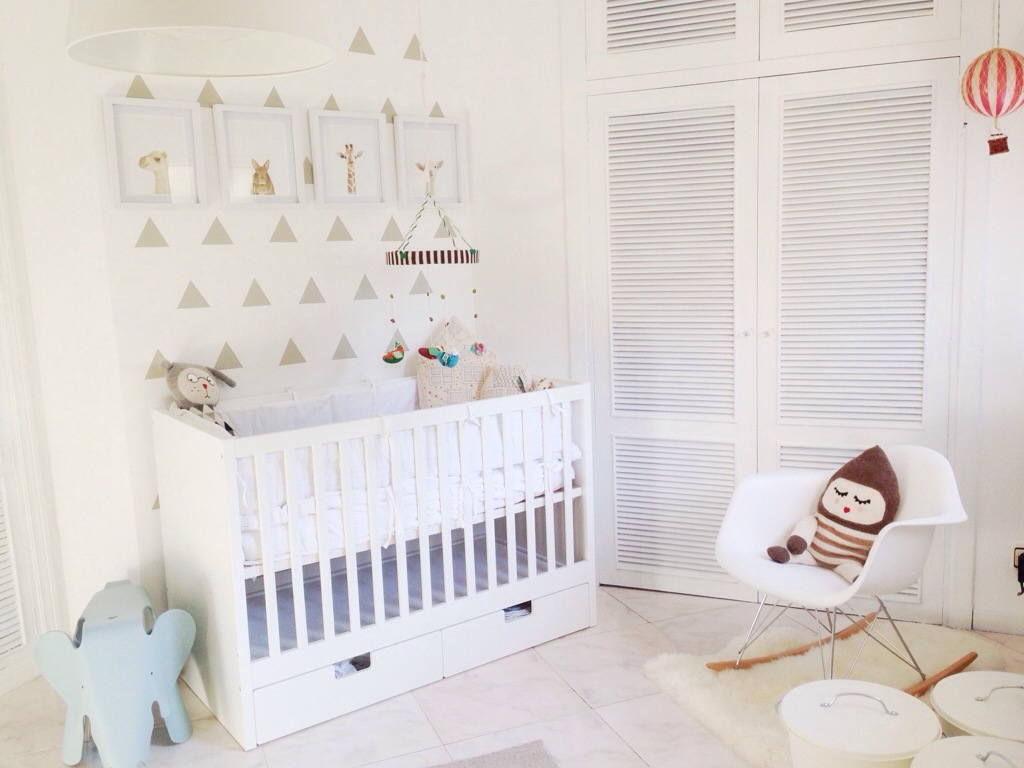 Image of: eames rocking chair nursery