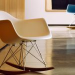 eames rocking chair plastic