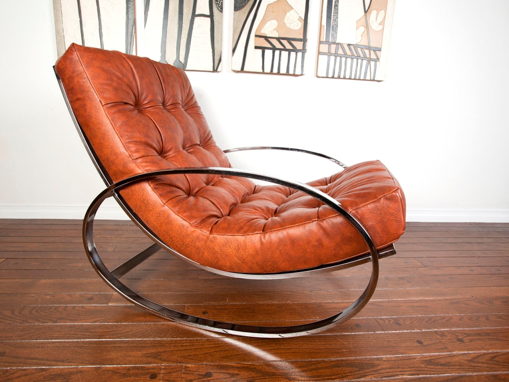Image of: eames rocking chair for nursing
