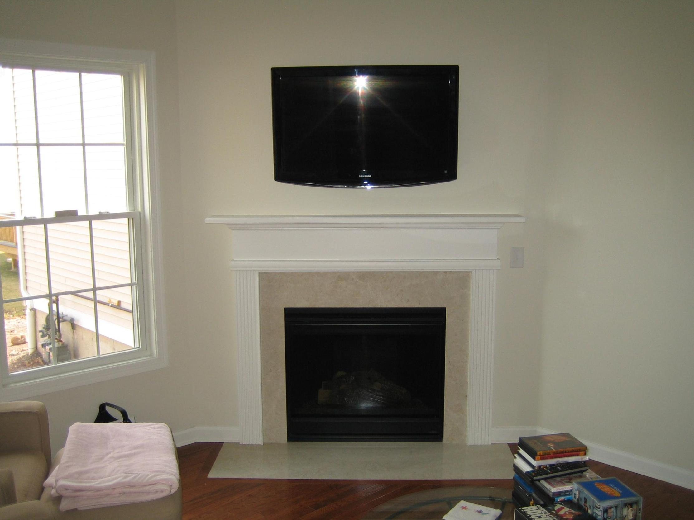 Image of: Electric Corner Fireplaces With Tv Stand