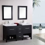 elegant contemporary bathroom vanities