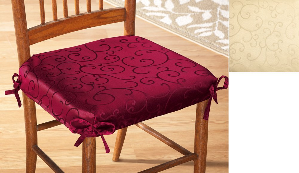 Image of: elegant dining chair cushions