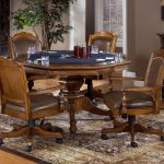 Elegant Dining Room Chairs With Casters