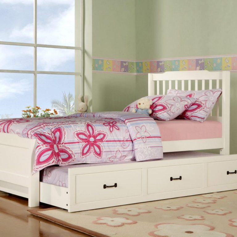 Image of: Elegant Kids Bed With Trundle