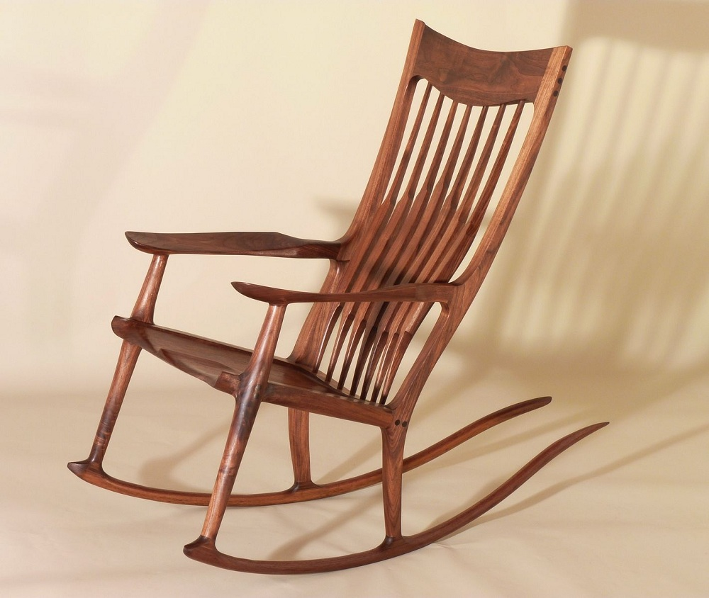 Image of: Elegant Mission Style Rocking Chair
