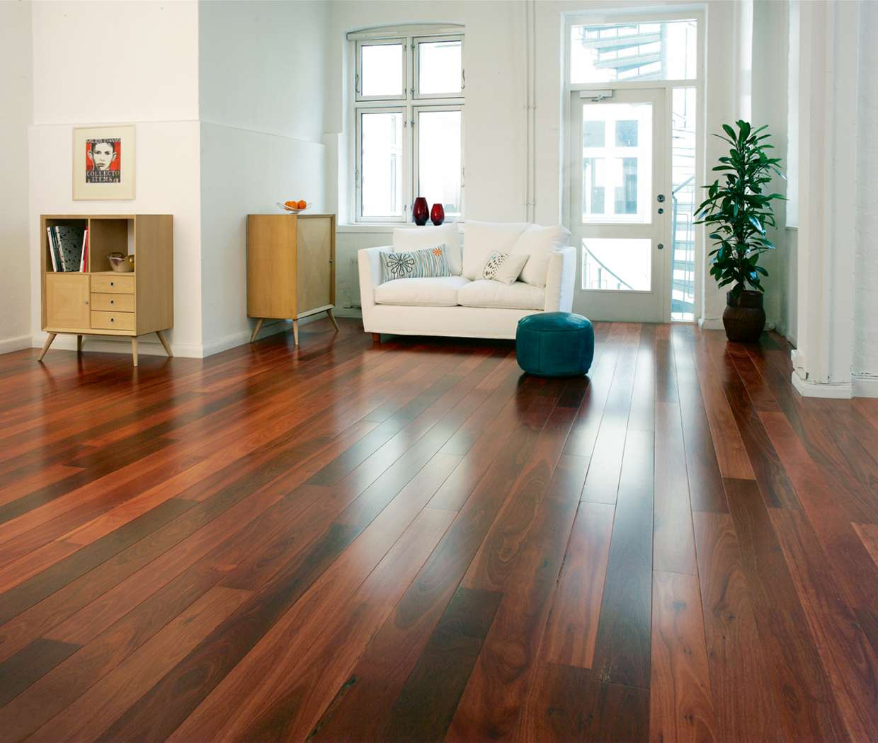 Image of: engineered wood floors livingroom