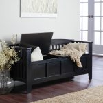 entryway bench with storage design