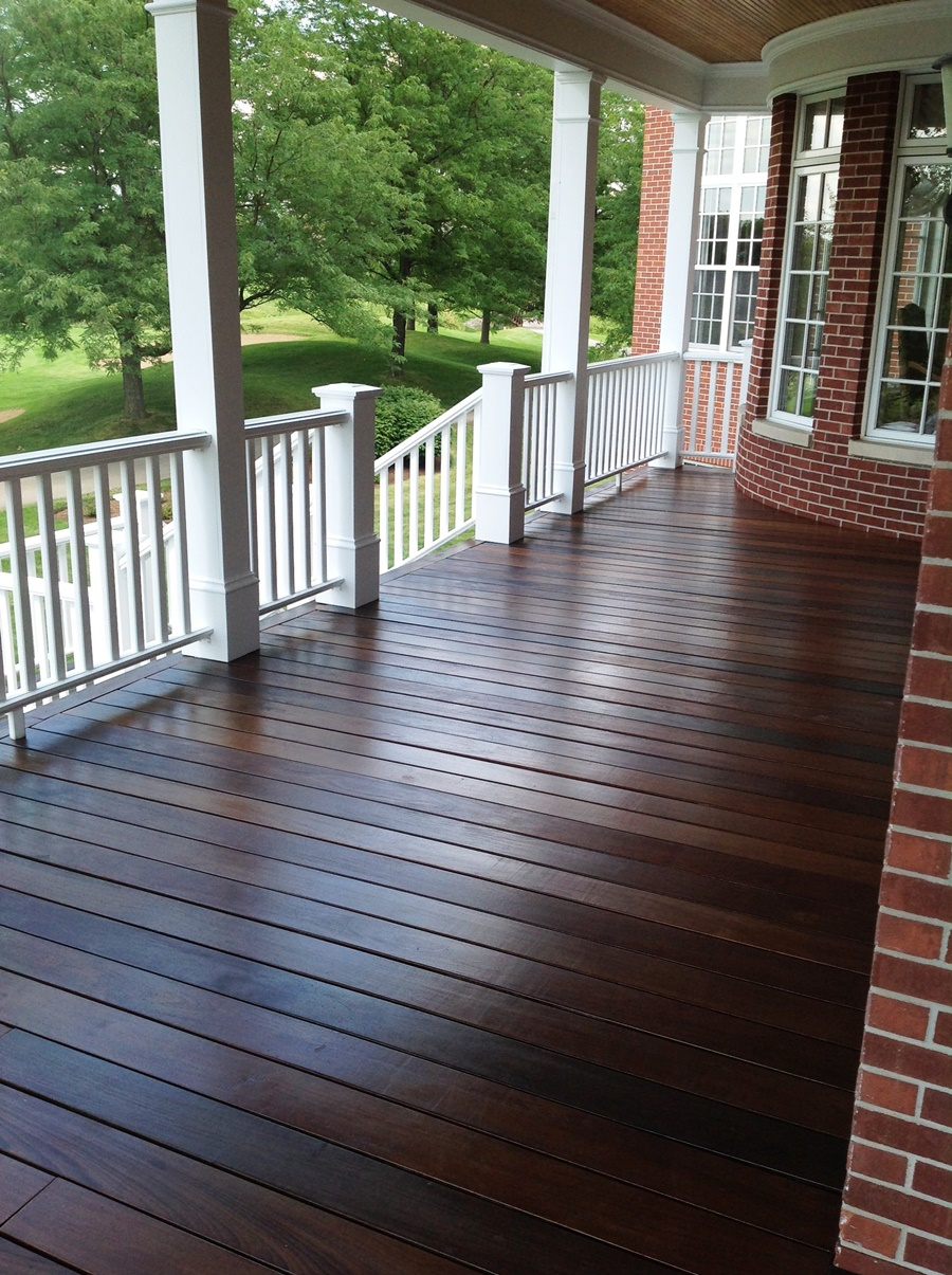 Image of: Epoxy Deck Coating