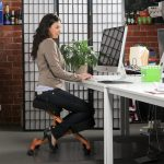cute ergonomic kneeling chair design