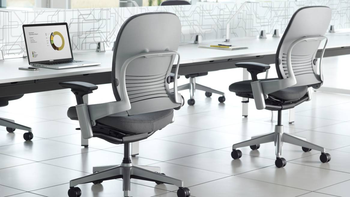 Image of: ergonomic steelcase leap chair