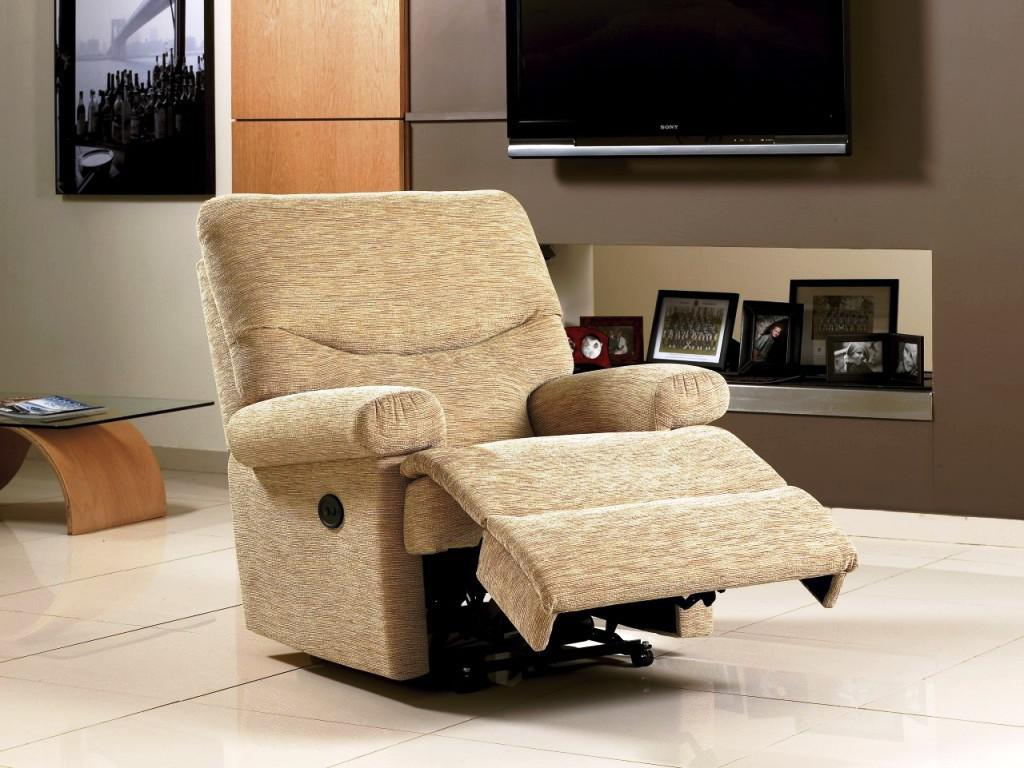 Image of: executive reclining office chair