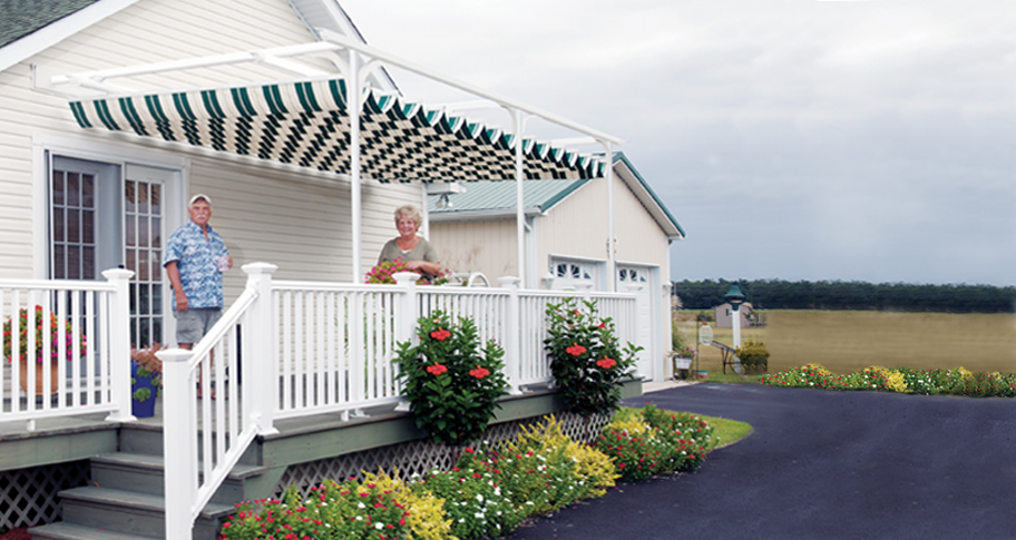 Image of: Exterior Awnings Colors