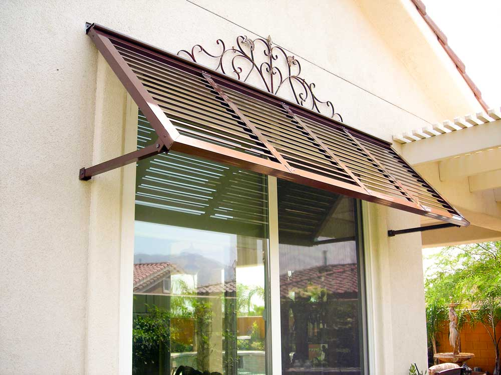 Image of: Exterior Awnings Ideas