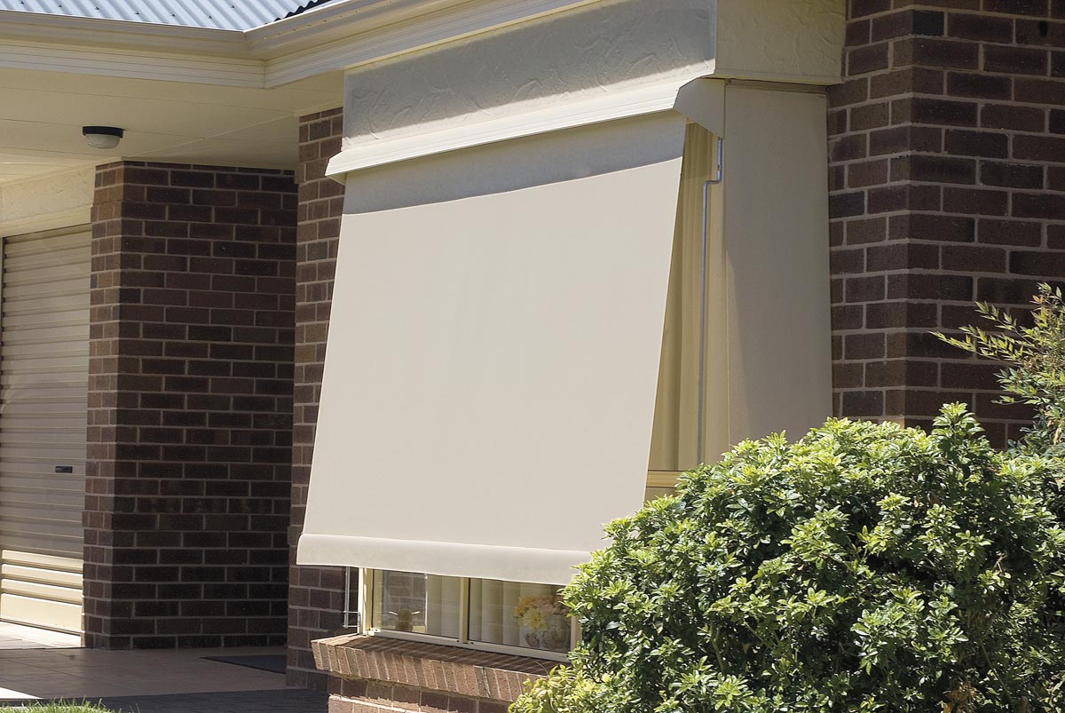 Image of: Exterior Awnings and Blinds