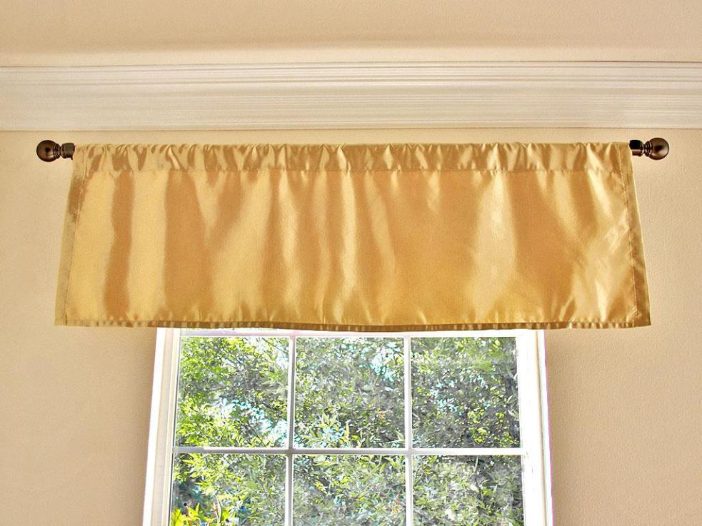 Image of: Extra Long Curtain Rods