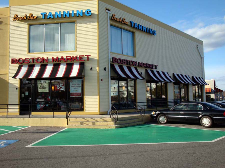 Image of: Fabric Industrial Awnings