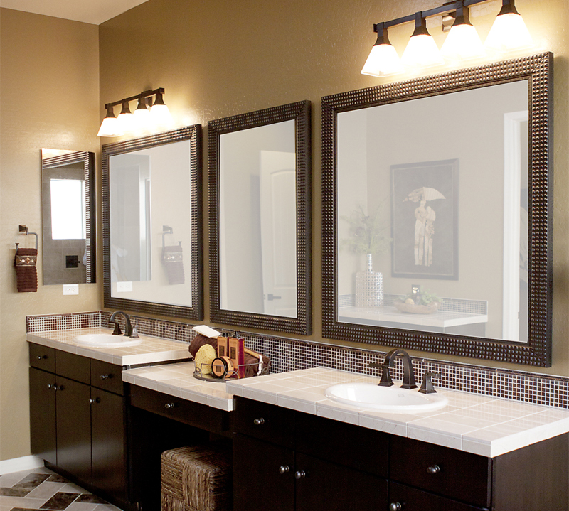 Image of: Famous Rustic Bathroom Mirrors