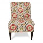 Fantasy Floral Accent Chair