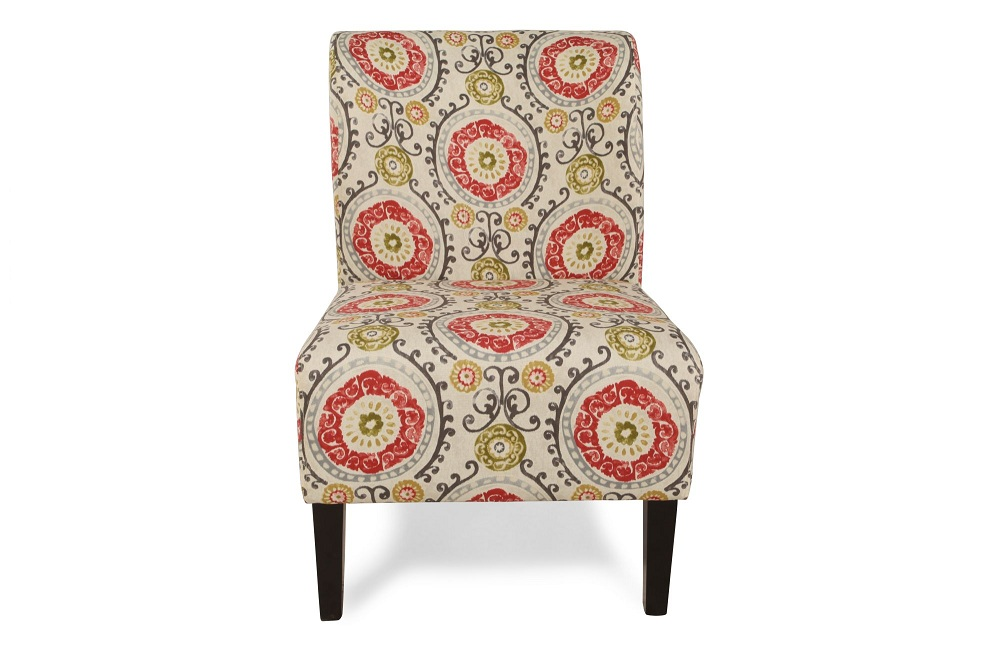 Image of: Fantasy Floral Accent Chair