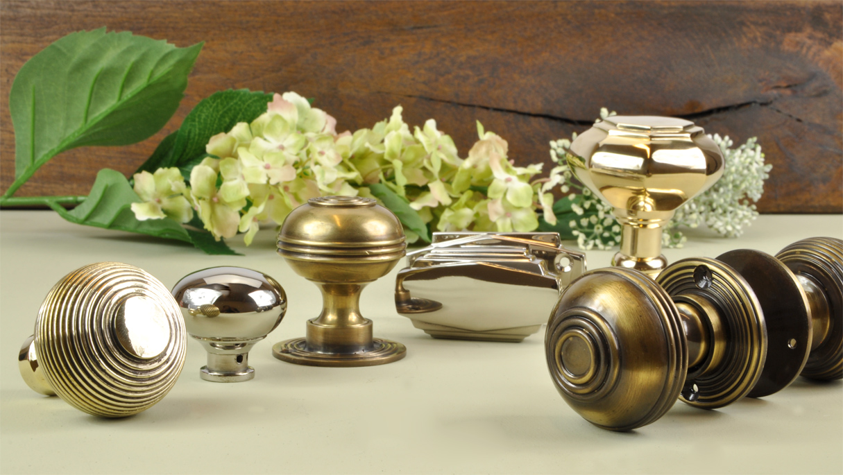 Image of: Finished Bronze Door Knobs