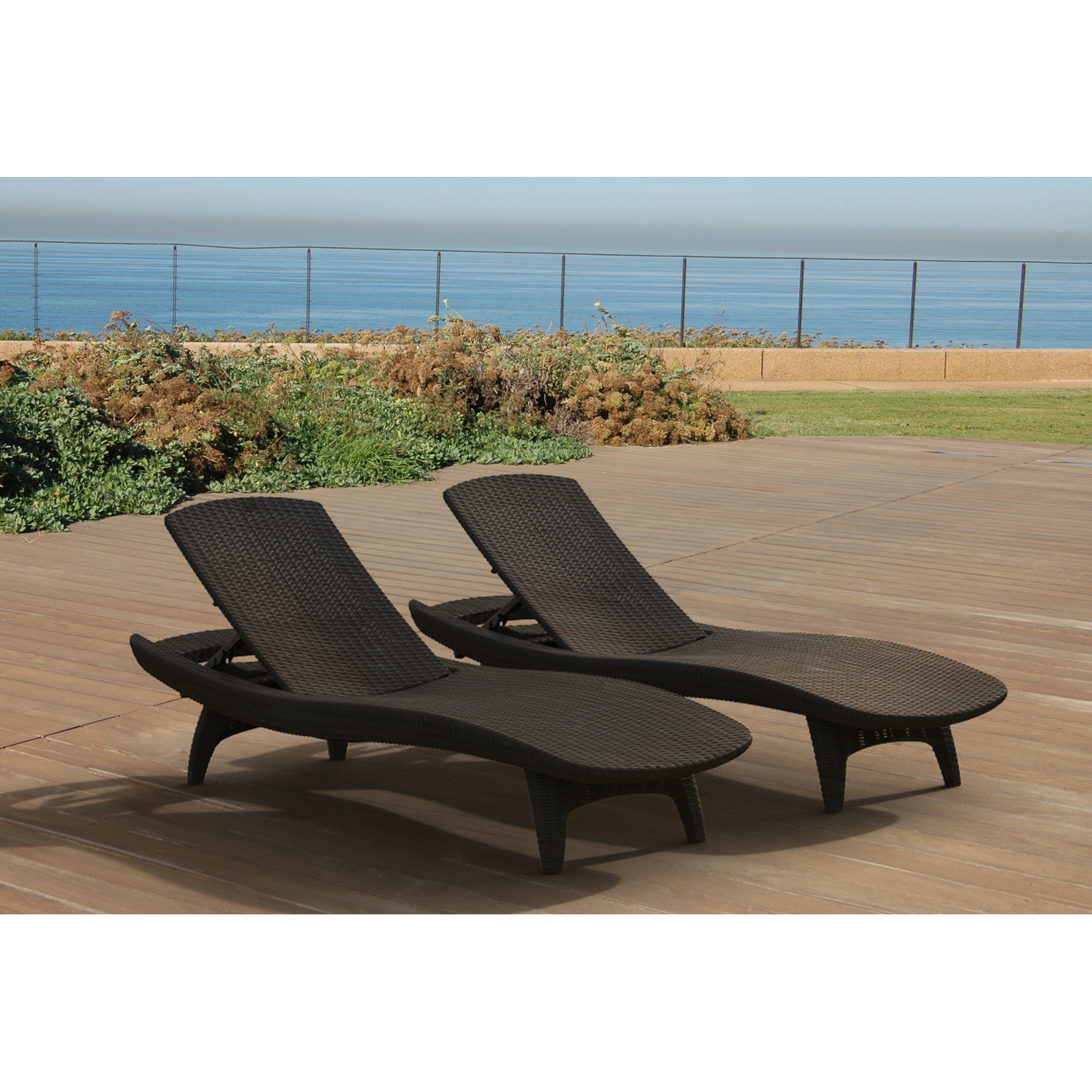 Image of: Folding Chaise Lounge Chair Image