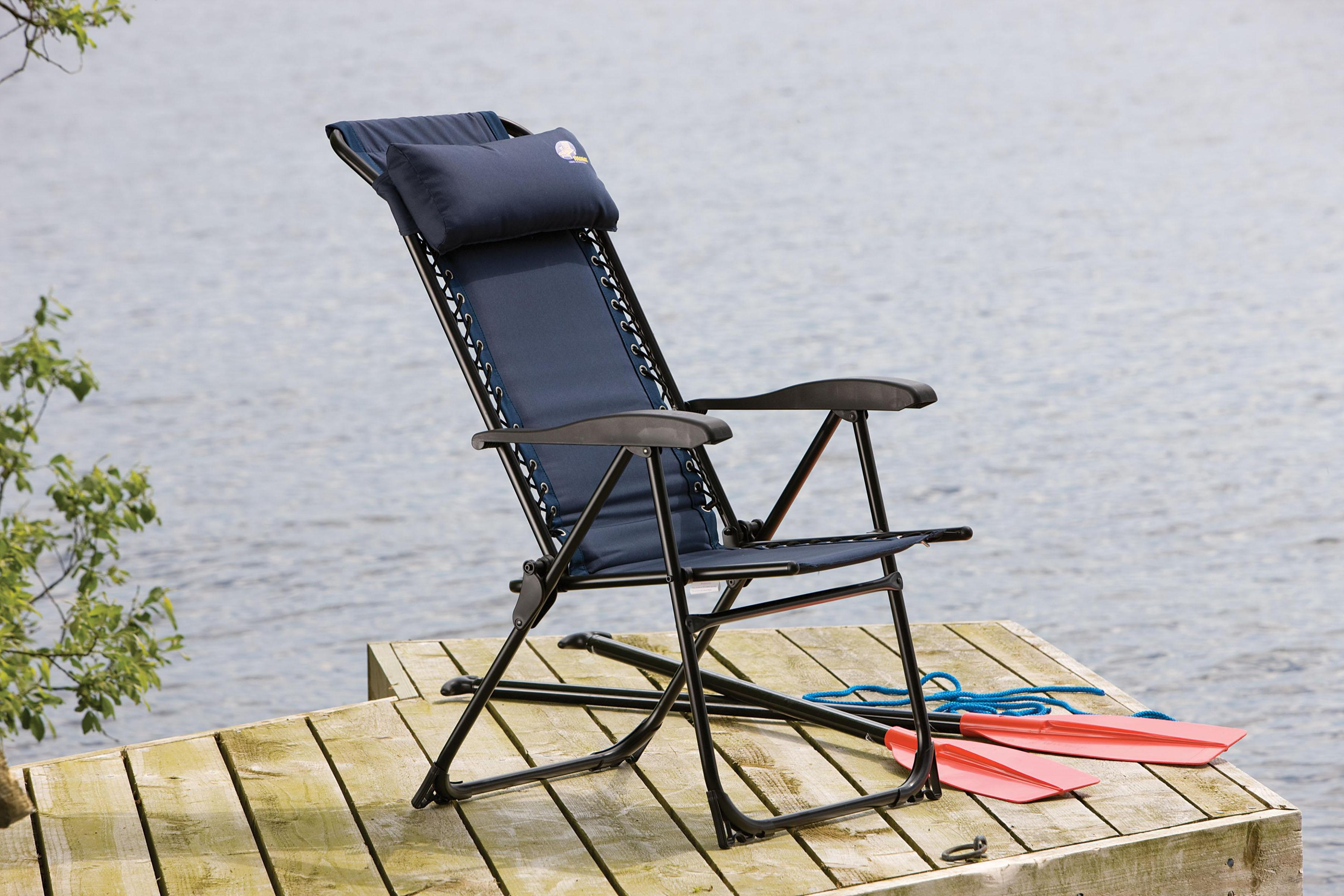 Image of: Folding Outdoor Recliner Chairs