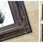 Framed Oil Rubbed Bronze Mirrors Bathroom