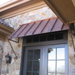 Front Door Awning Ideas Metal