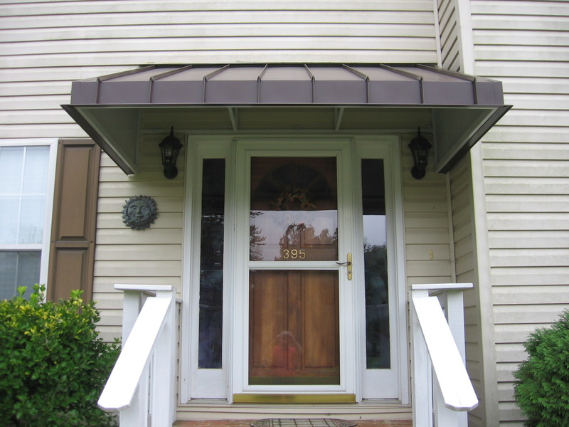 Front Porch Awnings Metal