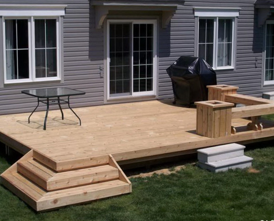 Image of: Front Porch Decks Boards